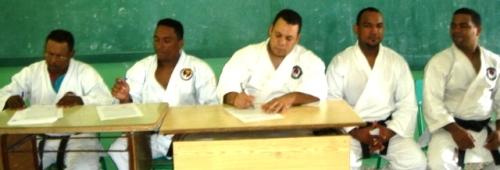 Geovanny Castro, Guarionex Martínez, Frank Abreu, Zoilo Vargas y José Rodríguez