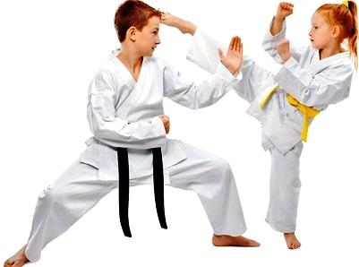 El karate, una disciplina útil para niños y niñas